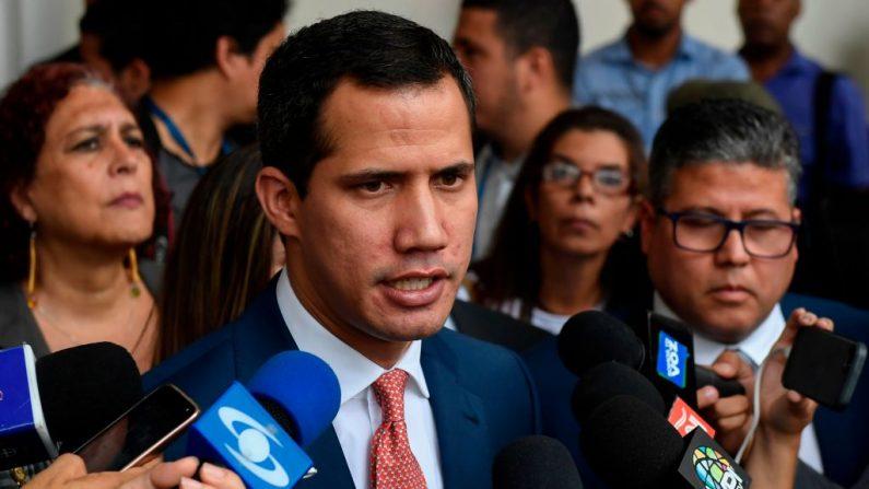 """Guaidó: """"O parlamento vai exercer suas funções seja como for"""" (Vídeo)"""