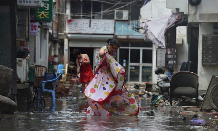 Sobe para 44 o número de mortos no leste da China após passagem do tufão Lekima