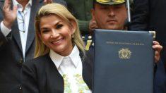 Jeanine Áñez confirma candidatura à presidência da Bolívia