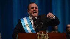 Novo presidente da Guatemala rompe relações diplomáticas com a Venezuela