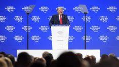 Em Davos, Trump critica 'profetas da fatalidade' climática