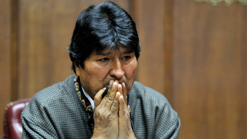 "Evo Morales define pedido de prisão contra ele por terrorismo como ""ilegal"""