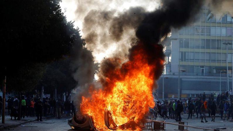 Protesto contra o Festival de Viña del Mar termina em confronto