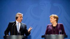 Merkel diz que Alemanha pretende auxiliar Argentina no campo econômico