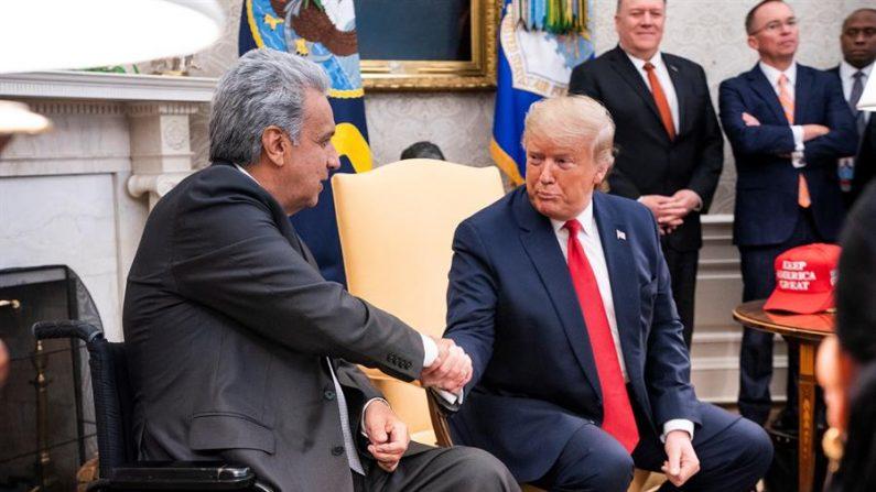 Trump busca acordo comercial com Equador e oferece ajuda contra narcotráfico