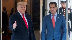 Trump recebe Guaidó a portas fechadas na Casa Branca