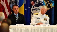 Bolsonaro assina acordo de defesa com Comando Sul dos EUA