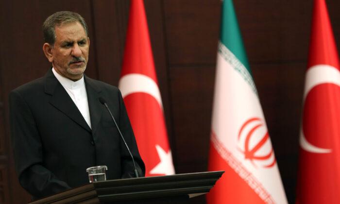 Primeiro vice-presidente iraniano é infectado com coronavírus