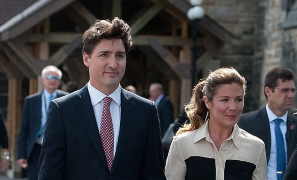 Esposa de Trudeau está infectada com coronavírus