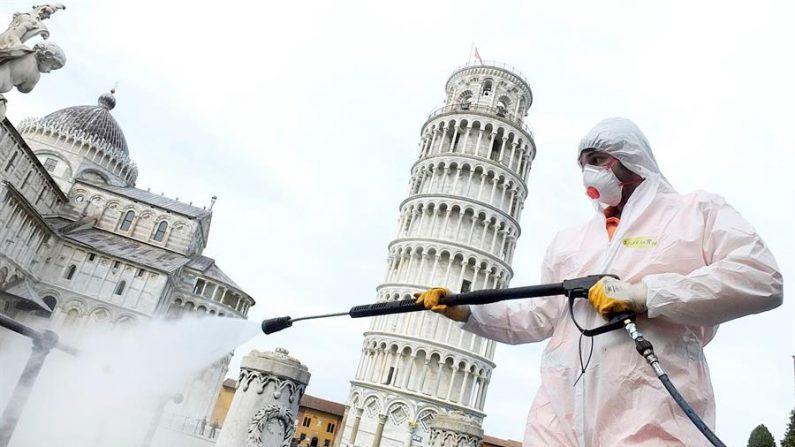 Itália registra 793 mortes por Covid-19 em 24 horas; Total é de 4.825