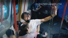 Gás lacrimogêneo é lançado em manifestantes de Hong Kong que retornaram às ruas contra a lei de 'Segurança Nacional' da China