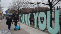 'Thank You', o altar de agradecimento a quem combate a Covid-19 em Nova Iorque