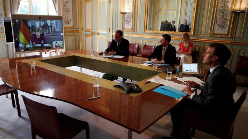 Merkel e Macron propõem fundo de apoio aos países mais vulneráveis da UE