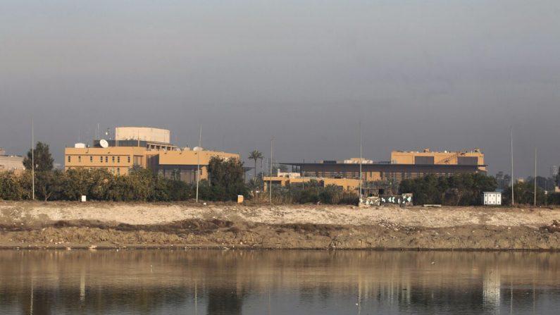 Pelo menos 4 foguetes explodem perto da embaixada dos EUA na zona verde do Iraque