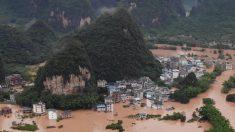 11 províncias da China sofrem inundações intensas enquanto mídia estatal se mantém em silêncio