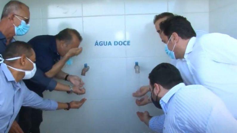 Equipamentos de dessalinização são entregues em Alagoas