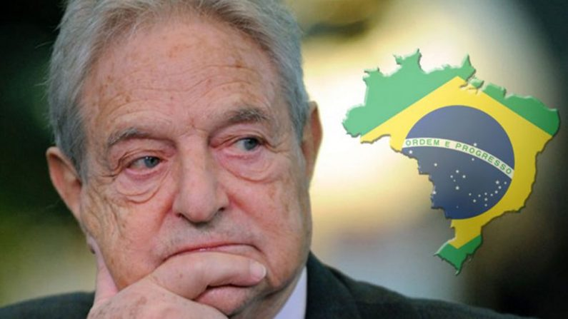 George Soros doa US$ 5 milhões para promover o radicalismo no Brasil