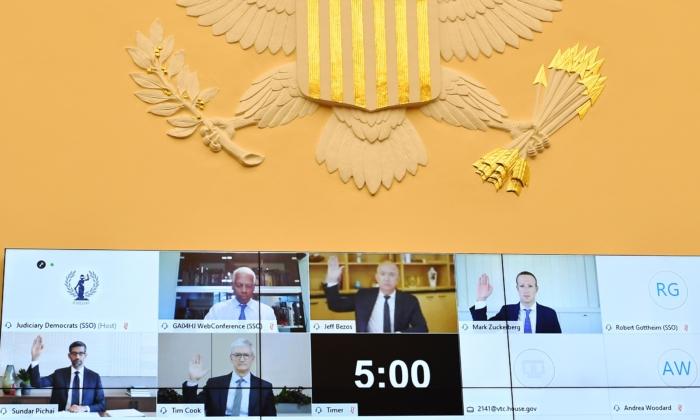 Congresso dos EUA investiga CEOs das Big Tech