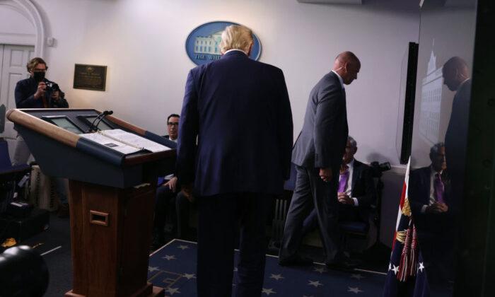 Trump: não está claro se tiro de suspeito perto da Casa Branca teve más intenções