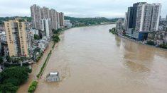 Tufão e inundações atingem China enquanto fortes chuvas ameaçam barragem das Três Gargantas