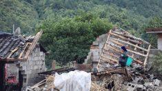 Deslizamento de terra em aldeia chinesa enterra pelo menos 10 casas e mata 7 pessoas