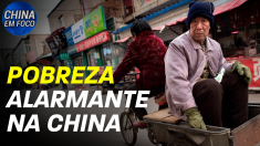 Pobreza alarmante na China