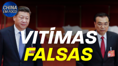 Primeiro-ministro da China Li Keqiang, visita vítimas fantasmas