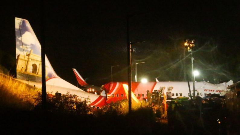 Acidente de avião com 191 pessoas a bordo deixa ao menos 10 mortos na Índia