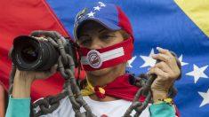 Venezuelanos protestam contra fome, falta de água e gás de cozinha