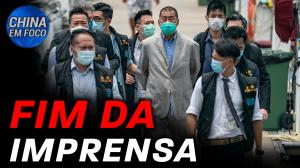 Polícia de Hong Kong prende pró-democrata