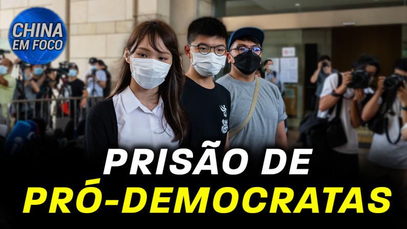 Prisão de pró-democratas