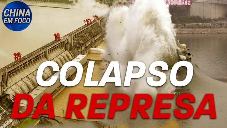 Colapso da represa