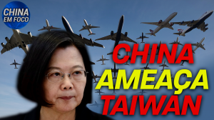 China ameaça Taiwan
