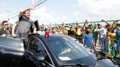 No Maranhão de Flávio Dino, Bolsonaro discursa contra o comunismo