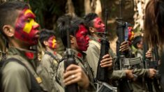 Guerrilhas comunistas filipinas apontam armas para empresas chinesas
