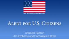 Embaixada americana no Brasil alerta sobre saidão de presos – 'the big exit'