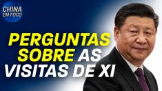 Perguntas sobre as visitas de Xi
