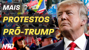 Mais protestos pró-Trump