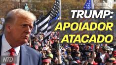 Trump: apoiador atacado