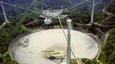 Radiotelescópio de Arecibo em Porto Rico é desmontado devido ao risco de colapso
