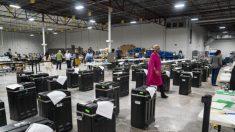 Queda em sistema da Dominion atrasa recontagem de votos na Geórgia