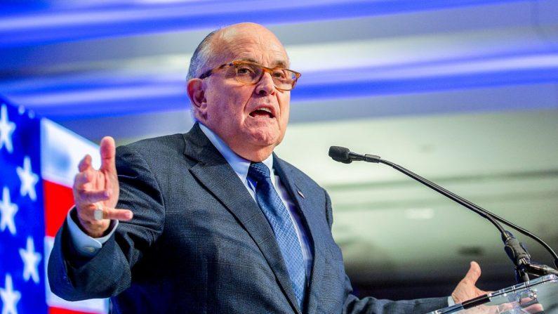 Rudy Giuliani fala sobre fraude nos votos da Pensilvânia