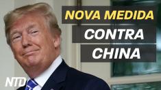 Nova medida contra a China