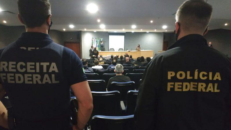 PF faz maior operação do ano contra lavagem de dinheiro do tráfico