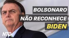Bolsonaro não reconhece Biden