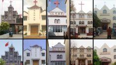 Mais de 900 cruzes de igrejas sāo removidas enquanto a perseguição religiosa na China continua