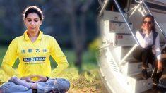 Aeromoça de sucesso da Índia conta como meditação do Falun Dafa curou sua doença misteriosa