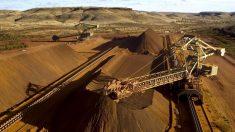 Comércio de minério de ferro da Austrália ajudou a tirar 'centenas de milhões' de chineses da pobreza, afirma tesoureiro