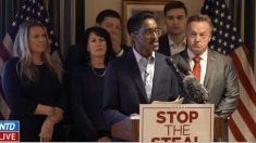 Movimento 'Stop the Steal' pressiona senadores republicanos que não apoiam Trump