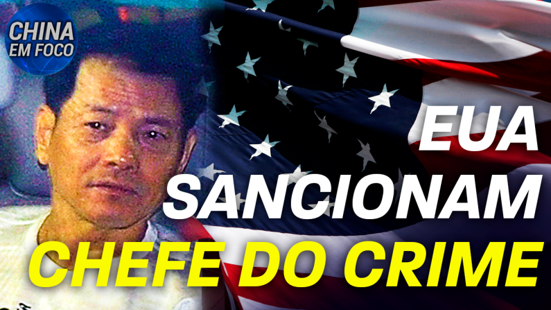 EUA sancionam chefe do crime